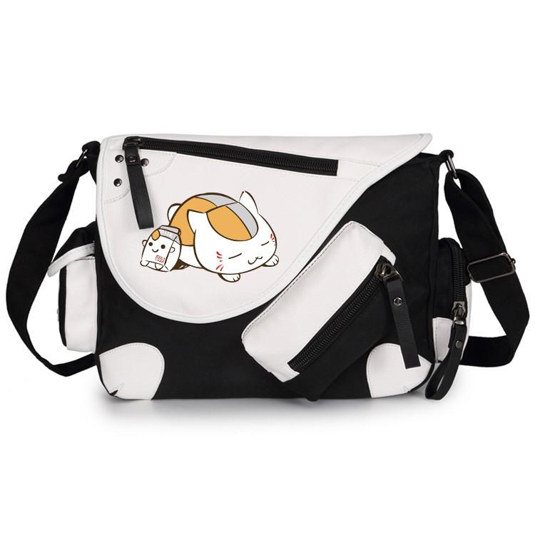b76ec3a77efd Boys Girls Messenger Bag School Bag Women Men Anime Natsume Yuujinchou  Shoulder Bag