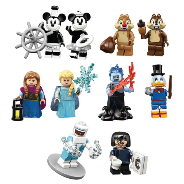 LEGO Disney Series 2 (71024) Bundle of 10 Minifigures