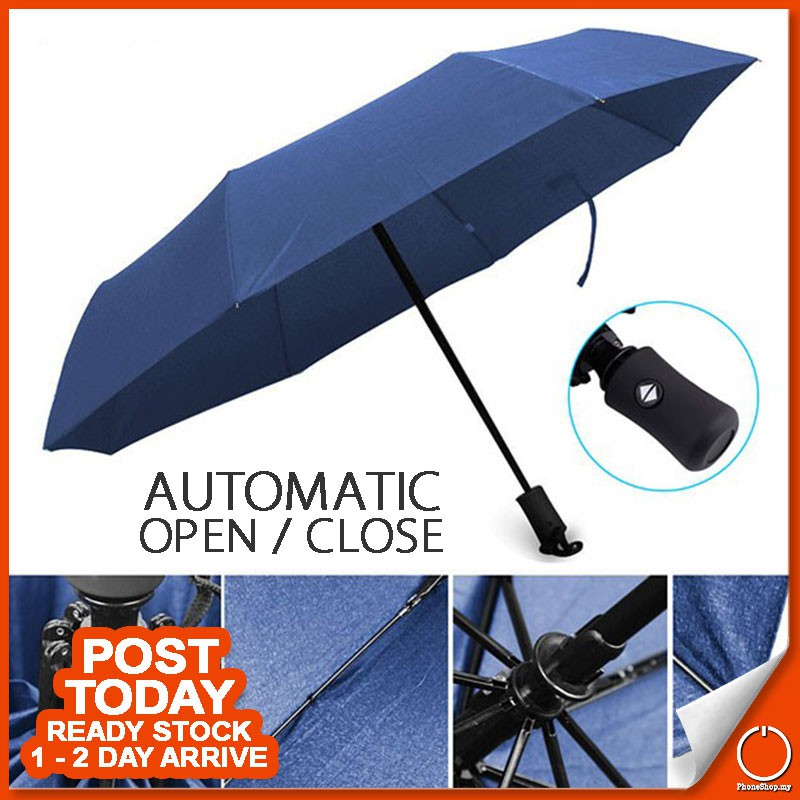 fef8168481df Automatic Auto-Open Foldable Umbrella Advanced For Travel And Daily Use