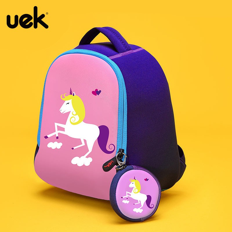 8d096a356486 UEK cartoon Korean Edition lovely double shoulder bag travel bag ...