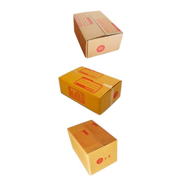 กล่องพัสดุ กล่องไปรษณีย์ไซส์เล็ก ตระกูล 0 (แพ็คละ 20 ใบ)