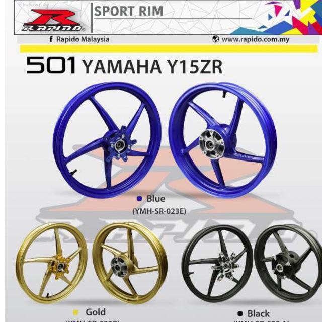 Y15ZR 501 SPORT RIM (140/140) FRONT Y125Z