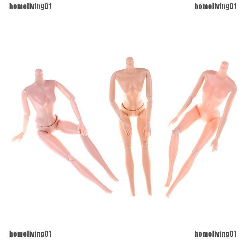30CM Doll Body DIY Barbie Doll Accessories 16 Joints Moveable Nude Body Doll Toy