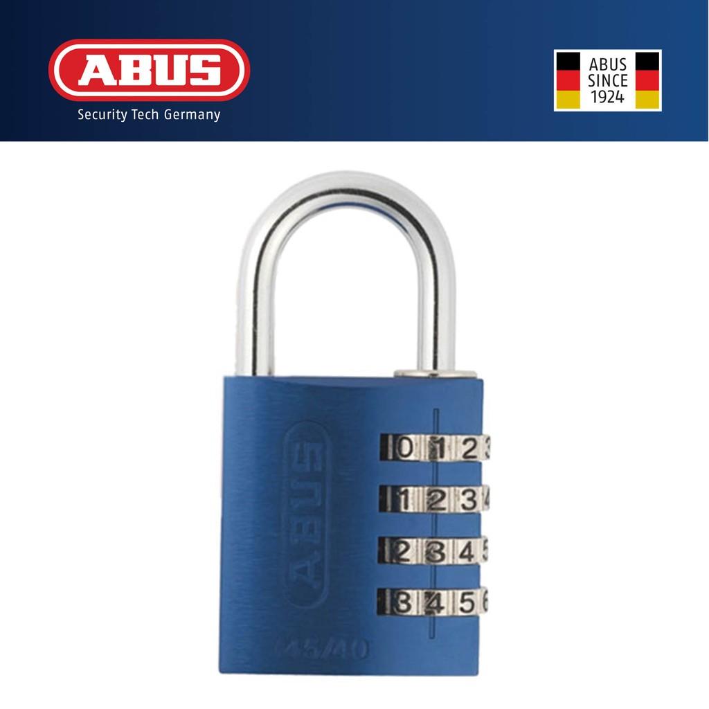 08dc052337e0 Abus 145/40 40mm Aluminium Combination Padlock