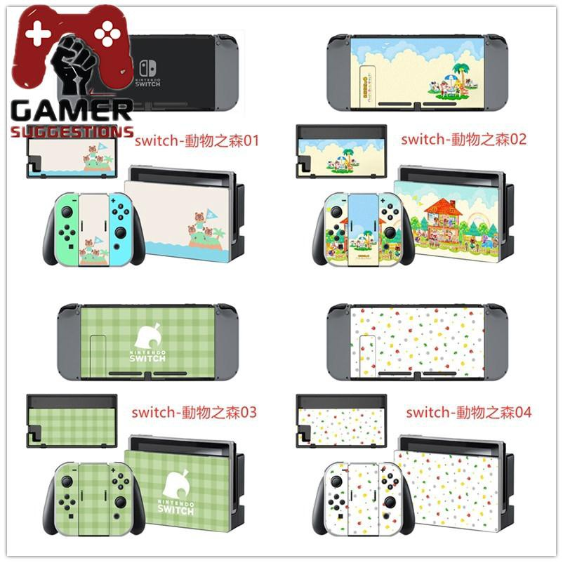 Hot Spot Game Player Nintendo Switch Animal Crossing Skin Cover