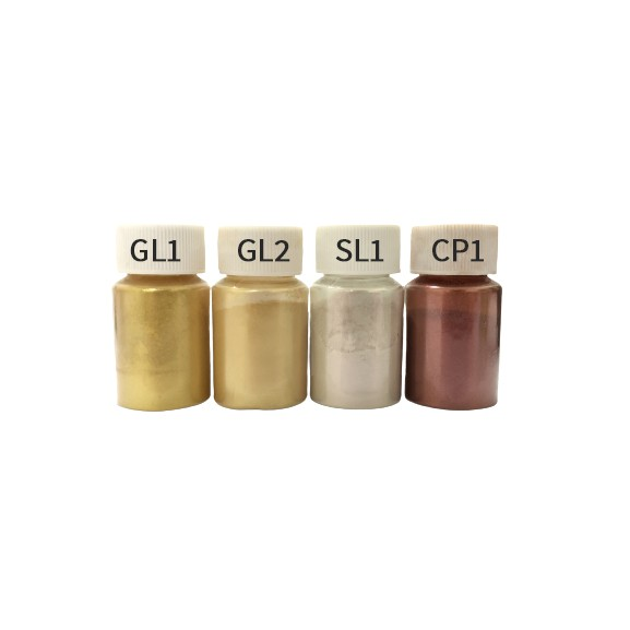20ml bottle  GOLD/SILVER/BRONZE Mica Powder/ Pearl Powdered Pigment for Resin/Clay/Slime/Soap/ Car paint/Epoxy
