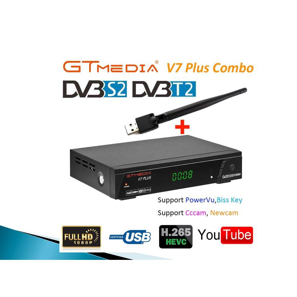 Genuine GT Media V7 Plus Combo H 265