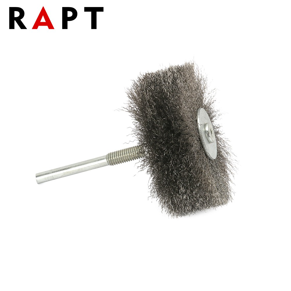 Steel Wire Polishing Buffing Wheel Brush Grinding Rotary Tool Shank Drill 6mm