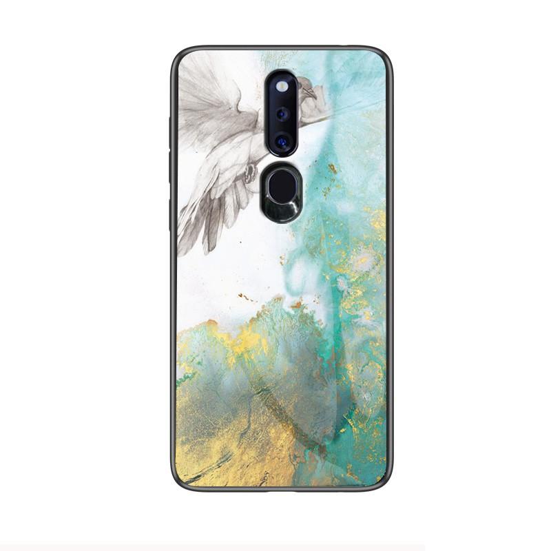 Huawei Y6 Y9 2018 2019 Ins Fashion Marble Case