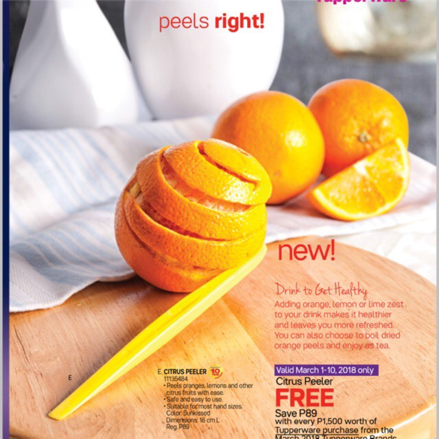 Tupperware Citrus Peeler (1)
