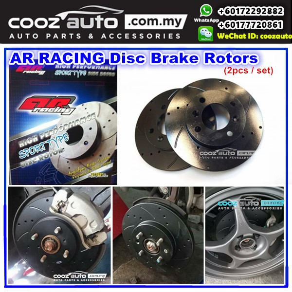 Toyota Vios 1 5 NCP93 G SPEC 2007-2013 - FRONT AR Disc Brake Rotor