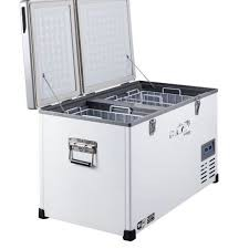 Evakool Dual Lid Dual Compartment Fridge Freezer - 75L - G75-DX-DL