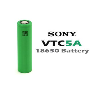 ORIGINAL Sony VTC5a 18650 2600mah 35a Lithium Ion vape Ecigs Rechargeable Battery High drain Performance hg2 30q 25r awt