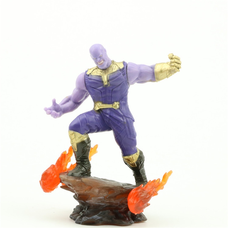 10cm Superhero Movie Infinity War Thanos Model Cosplay Props Action Figure  Collectible Toy