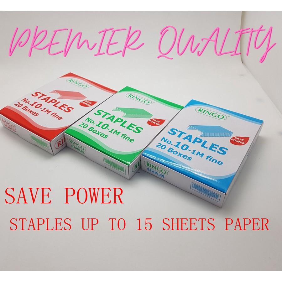 PREMIER QUALITY Staples No.10-1M Fine-20BXS