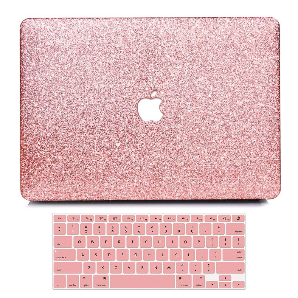 Hard Case with Free Keyboard Cover for MacBook Pro Air 13 12 Blinking Case  Cover