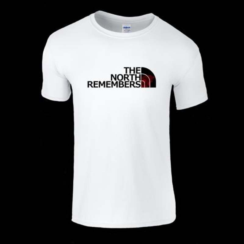 1b9b010e9 Game Of Thrones The North Remembers Men T Shirt North Face Parody