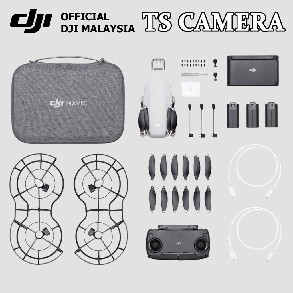 DJI MAVIC MINI THE EVERY DAY FLYCAM FLYMORE COMBO (OFFICIAL DJI)