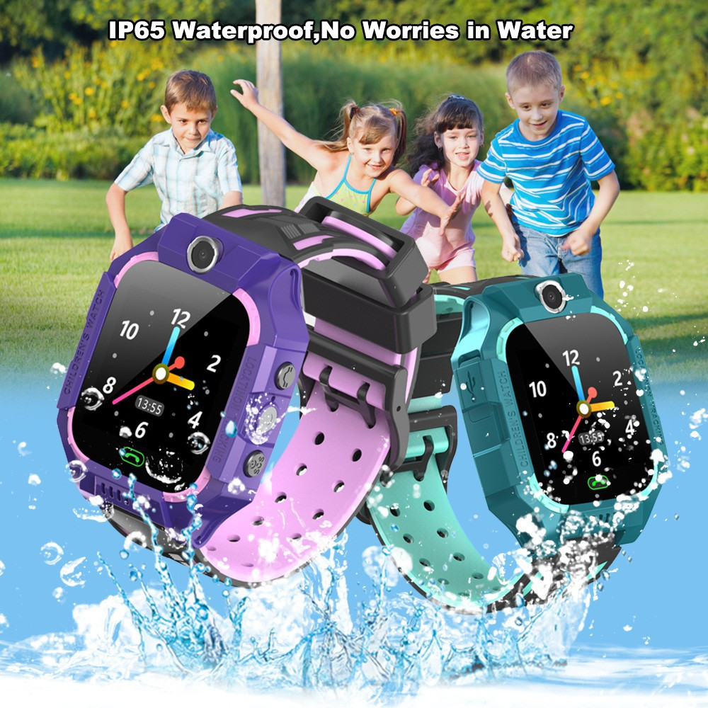E12 Children smart watch Telephone Intelligent Watch LBS Location One-button SOS Remote Watches