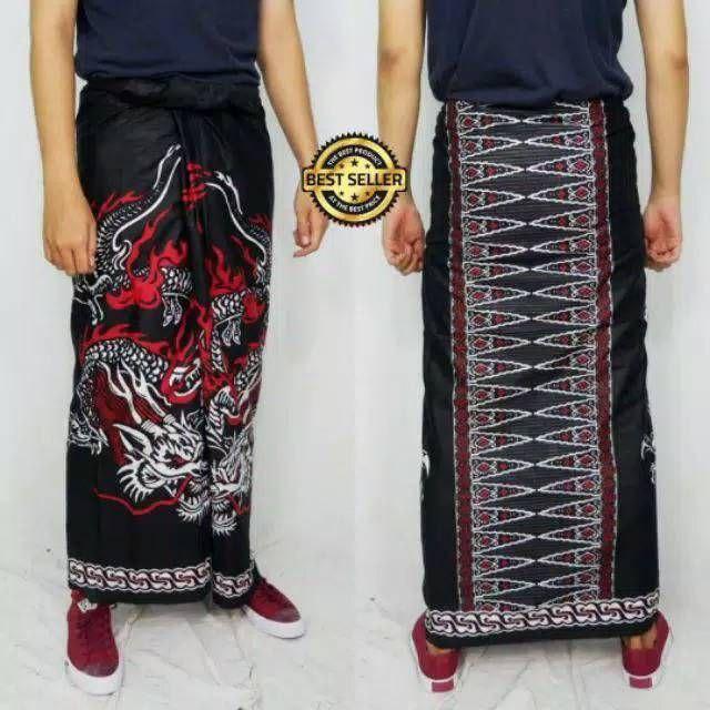 Sarung batik jawa/sarung santri