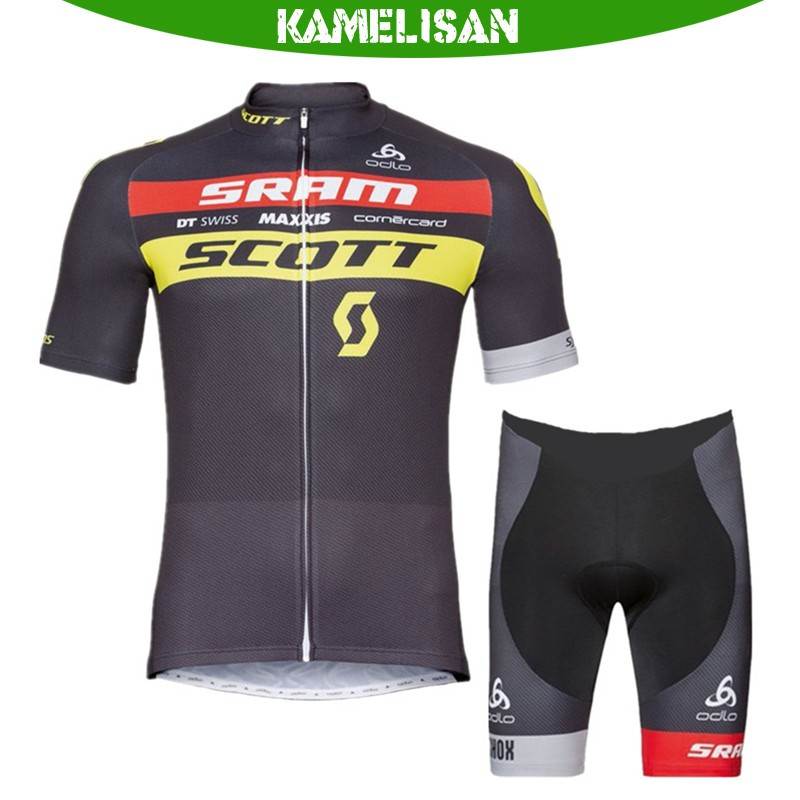Men/'s Cycling jersey pants sets Long sleeves bike bicycle Tops+padded trousers