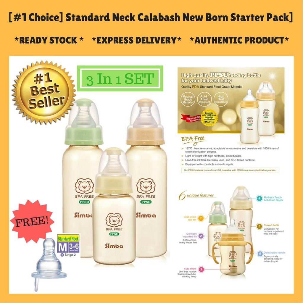 Hegen Ppsu Pcto Basic Starter Kit Shopee Malaysia Teat Medium Flow 3m 2 Pack
