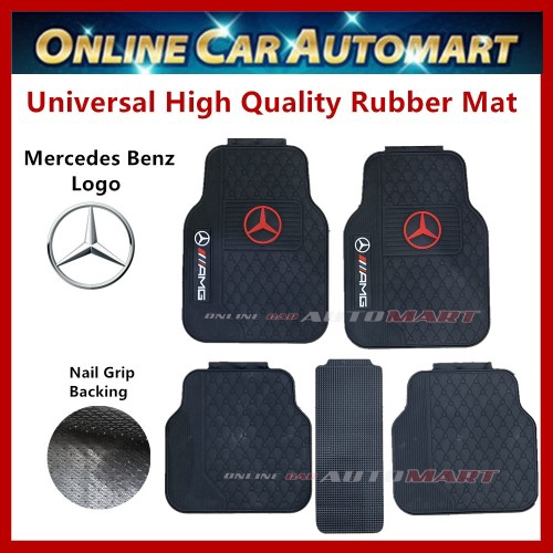 Universal High Quality Rubber Spike Nail Backing With Mers Logo Car FloorMat