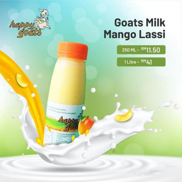 Happy Goats Goat's Milk Mango Lassi (Penang Only)