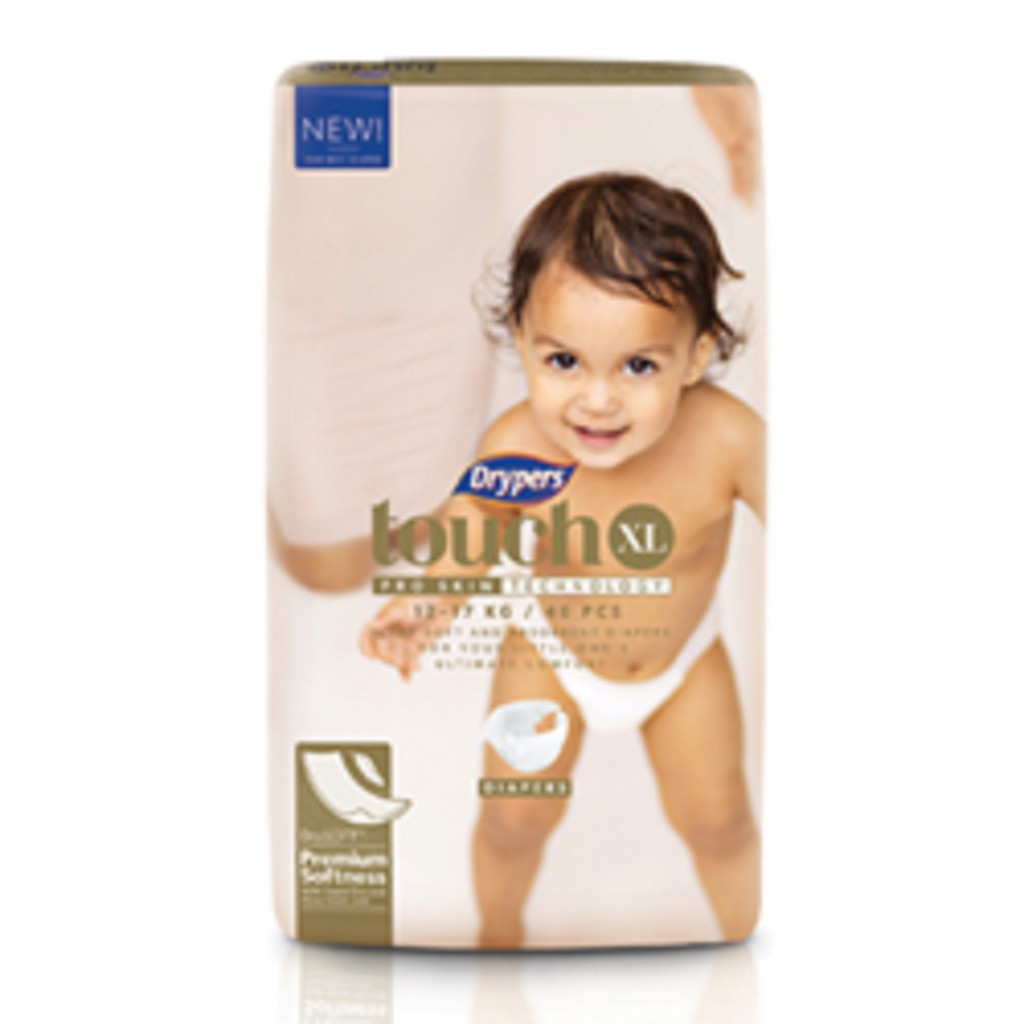 Drypers Touch Diapers XL46