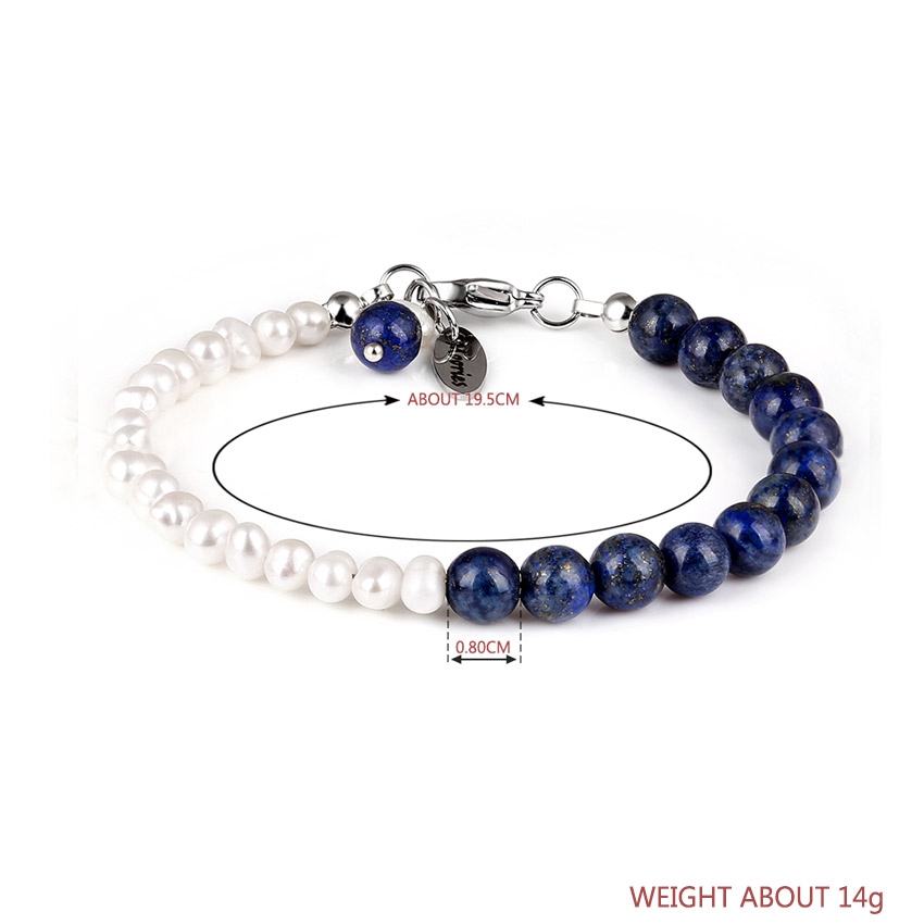 Pearl Bracelet Stainless Steel Clasp