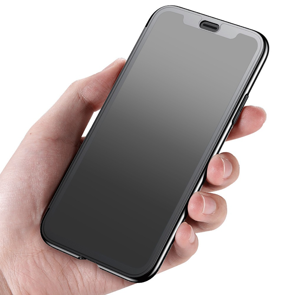 Baseus Touchable Case Tpu Protective Flip Cover For Iphone X Simple Anti Shock 7 47 Soft Shopee Malaysia
