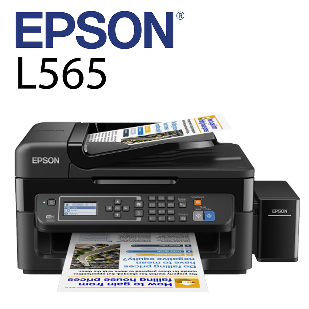 Official Epson L3110 Ecotank All In One Tank System Printer 4pcs T6641 Tinta Hitam Original Ink Shopee Malaysia