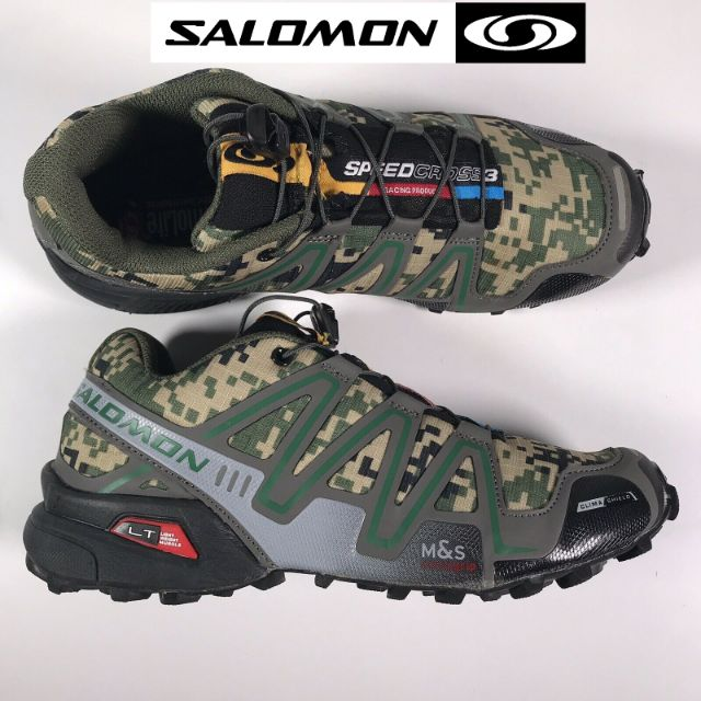 KASUT SL SPEEDCROSS 3 CAMO Trail Running Sports Outdoor Hiking Shoes