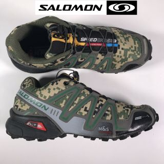salomon speedcross 3 camouflage green army