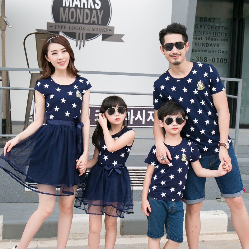 2d7c099dd48e6 ProductImage. ProductImage. Cotton Family Matching Outfits Mom And Daughter  ...