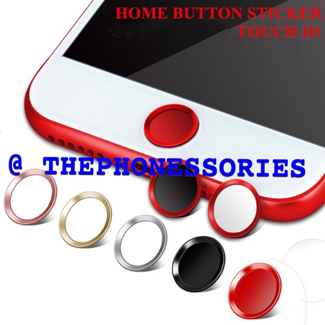 iPhone 5S SE 6 6S Plus Touch ID Fingerprint Ring Home Button Sticker ... 8a31bde796