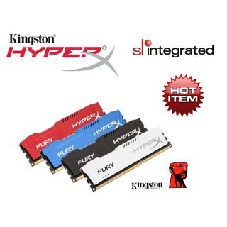 🧧ANGPOW🧧Kingston HyperX® FURY DDR3 CL10 1600MHz Gaming Ram 4GB 8GB