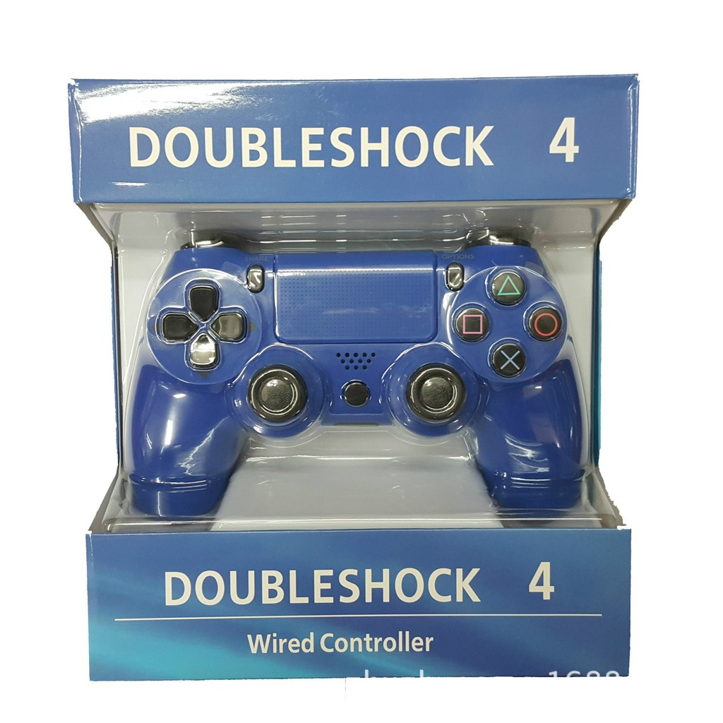 Playstation 4 Wired Gamepad Dual Vibration Game Controller for PS4 ...