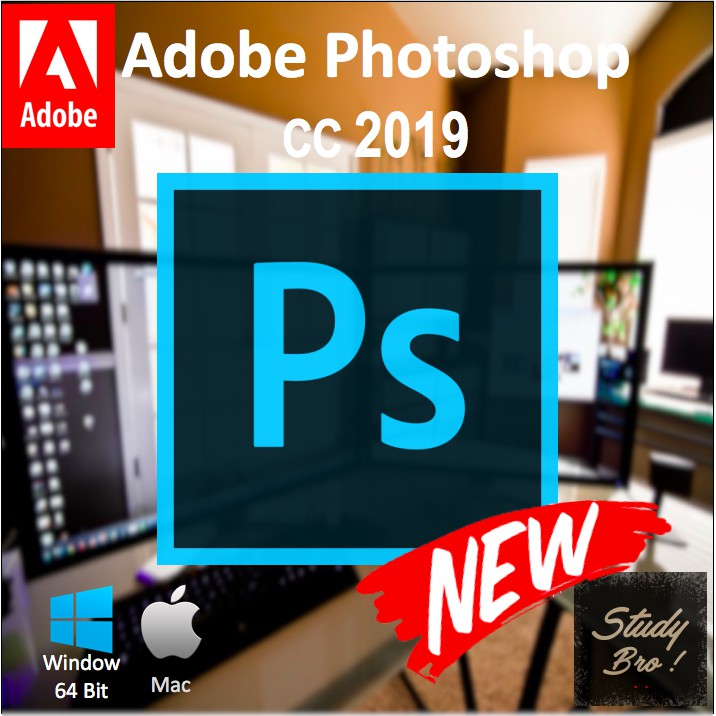 Adobe Photoshop CC 2019/ 2018 [Window 64-Bits/ MacOS] | Software