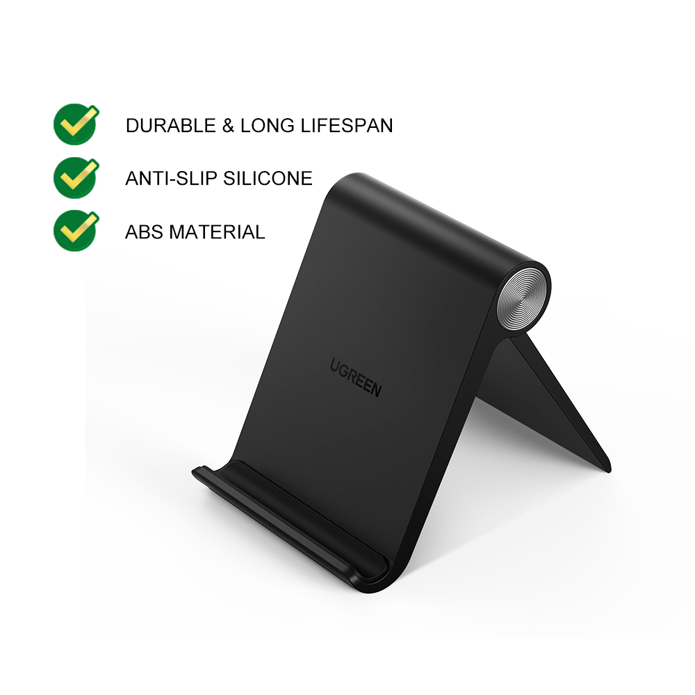 UGREEN Multi Angle Universal Mini Foldable Desk Stand for Redmi iPhone X 11 12 Samsung note S10 Huawei Xiaomi All Phone