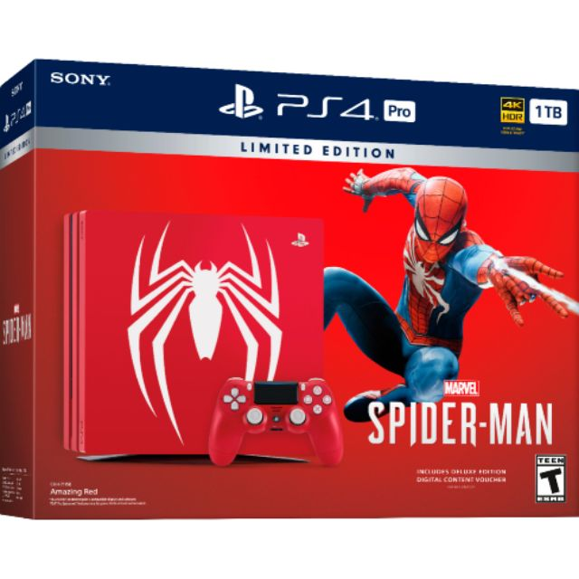 ps4 slim spider man limited edition
