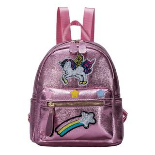 Horse  School Messenger College Sholder Purple Unicorn Laptop Bag