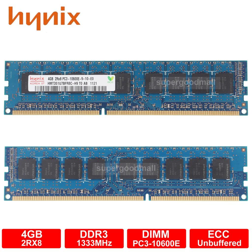Samsung 2GB 1Rx8 PC3L-10600E DDR3 1333MHz Unbuffered ECC Memory Module