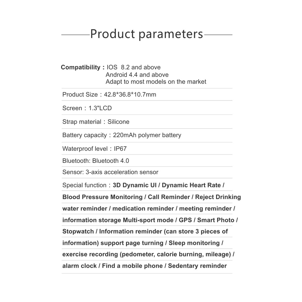 Q58S Smart Watch 1 3