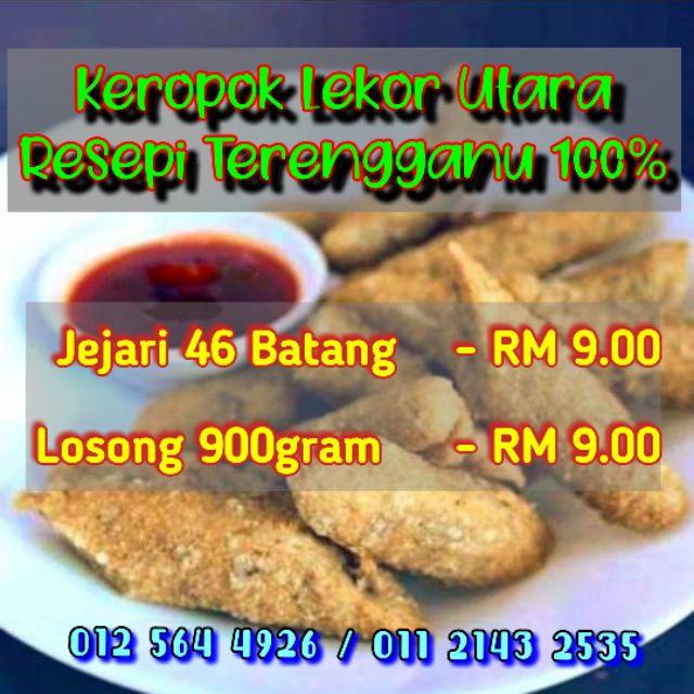 Keropok Lekor Utara Resepi Terengganu 100