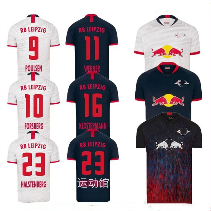 Top Quality 19 20 Leipzig Red Bull Home Away Third Jerseys Rb Football Jersey Thai Version Shopee Malaysia