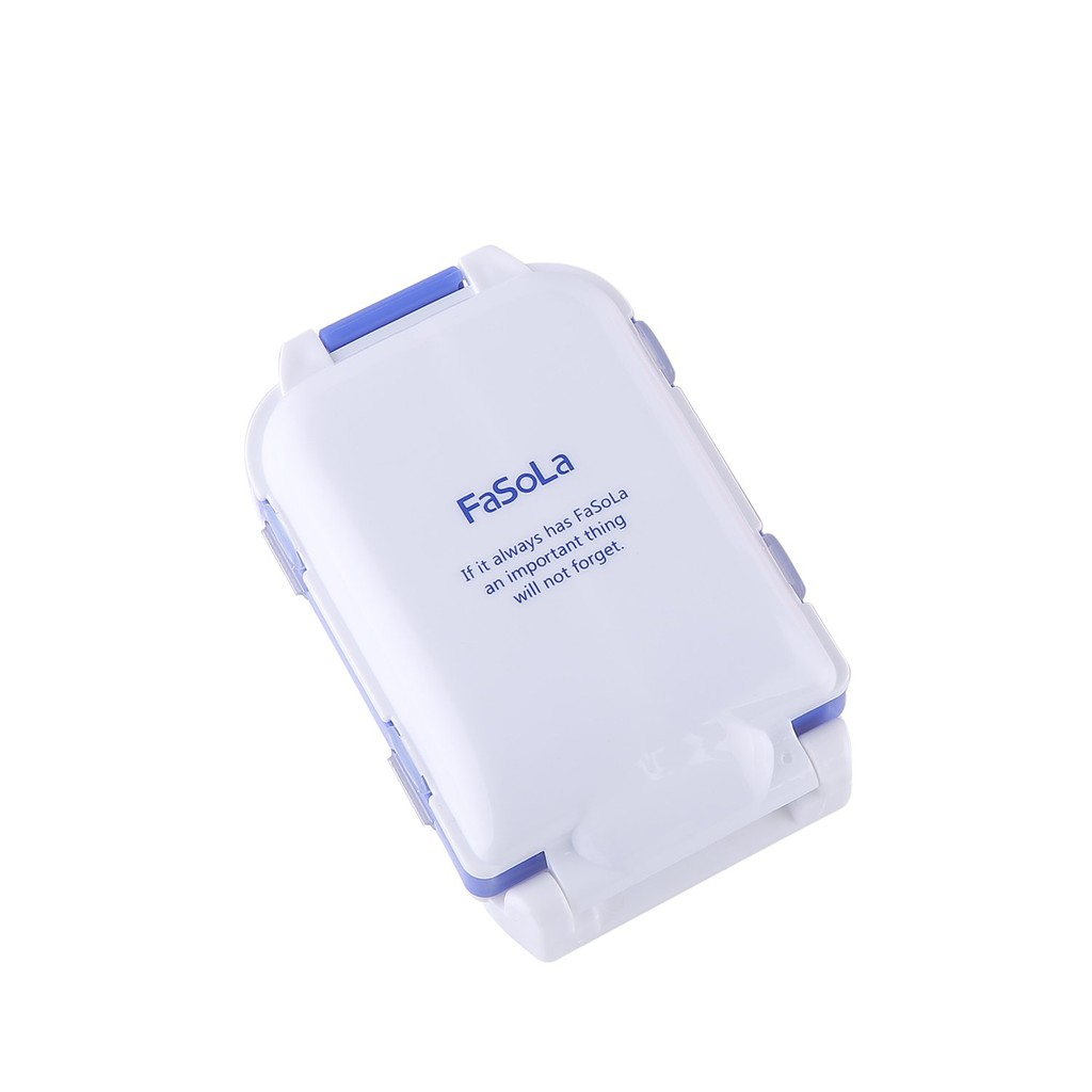 FaSoLa Portable Pill Case Box (Blue)