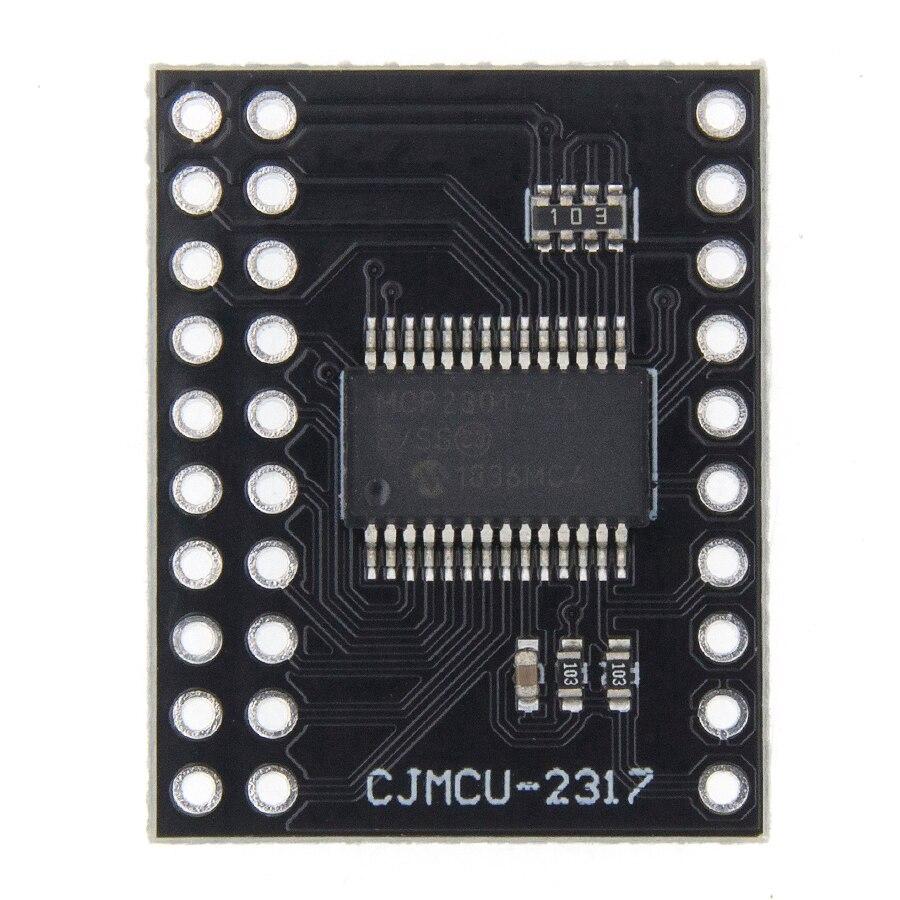 MCP23017 Serial Interface Module IIC I2C SPI MCP23S17 Bidirectional 16-Bit I//O Expander Pins 10Mhz Serial Interface Module