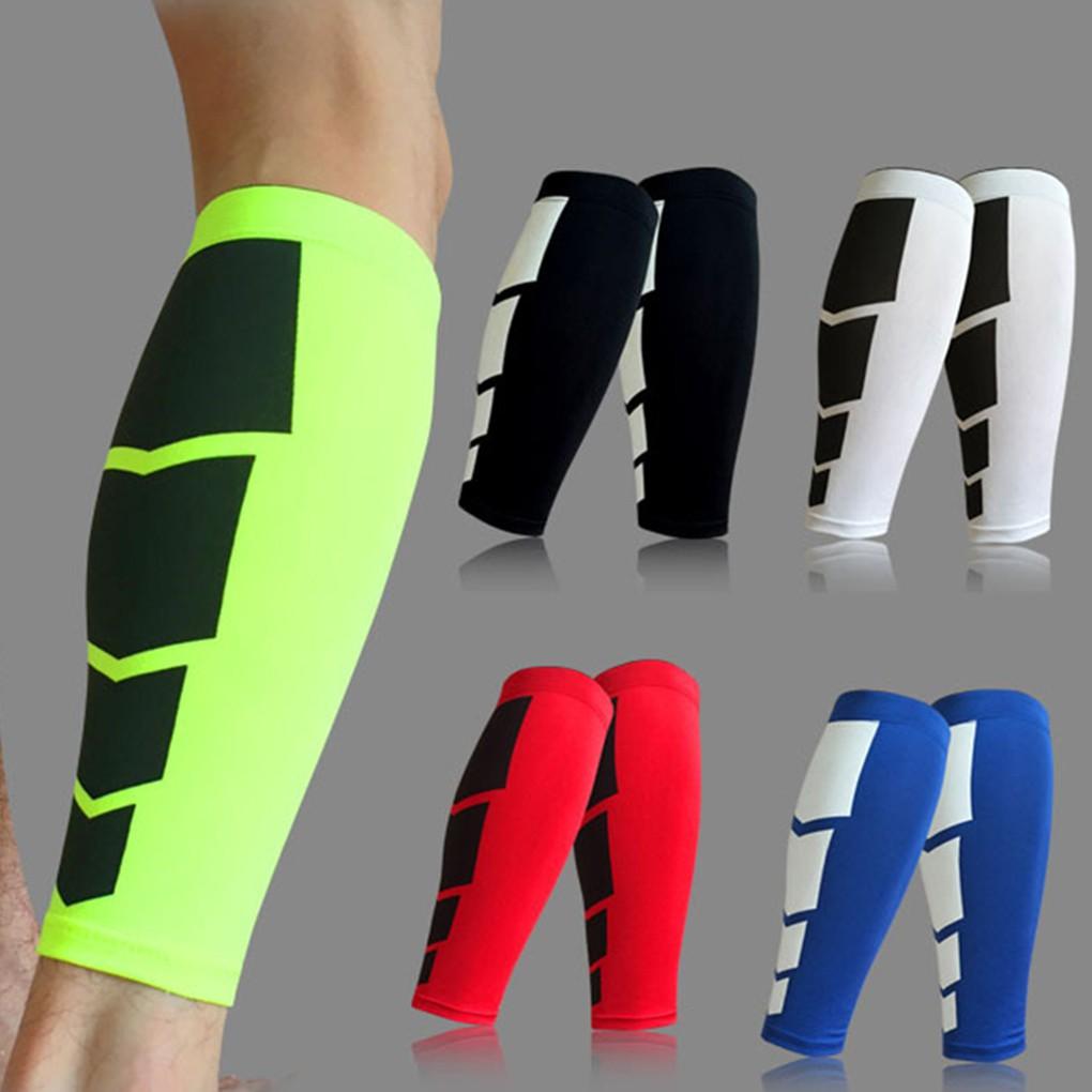 1 Pair Men Women Calf Support Compression Leg Sleeve Sports Socks Protector Gear