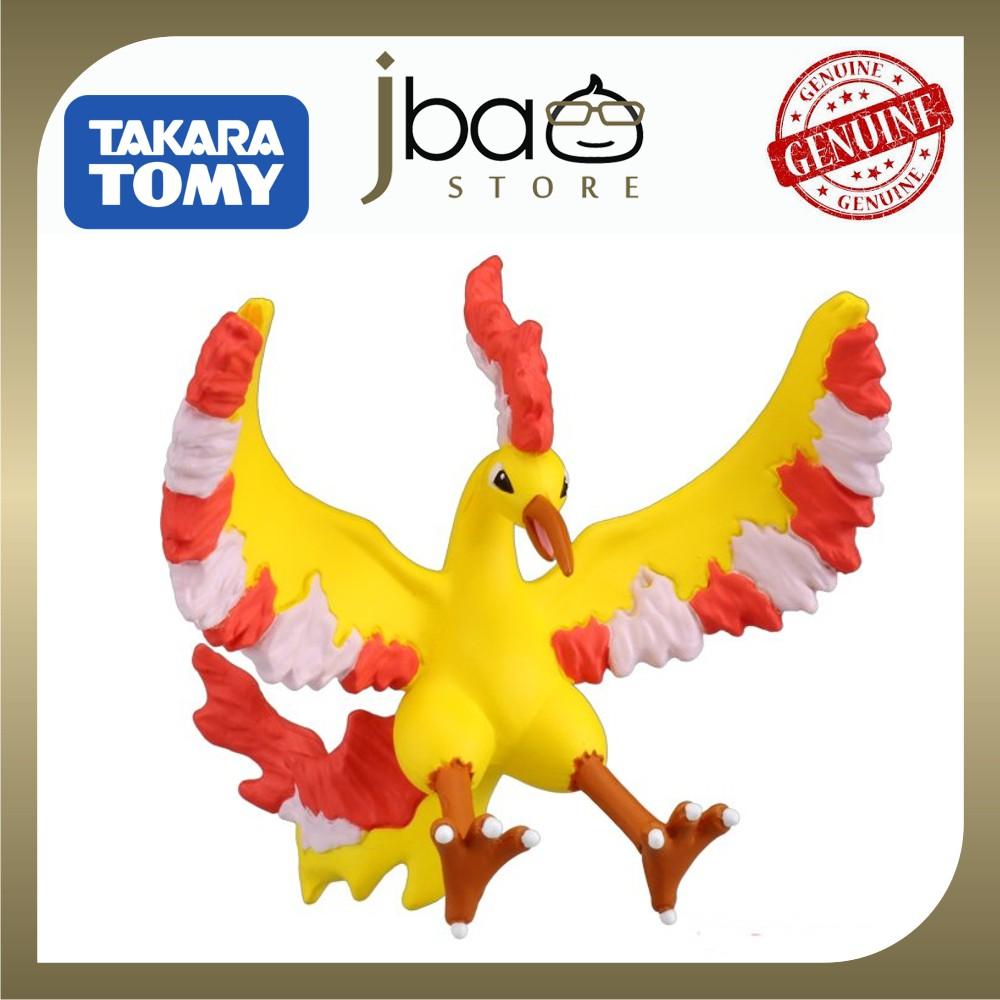 Takara Tomy Monster Collection Moltres Pokemon Legendary Fire Flying